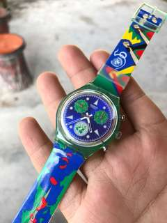 Swatch Chrono United Nations 50th Anniversary