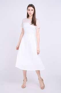 BNIB Lilou Dress in White