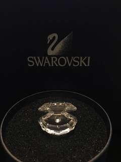 Swarovski Crystal 施華洛世奇水晶 擺設 珍珠貝殼