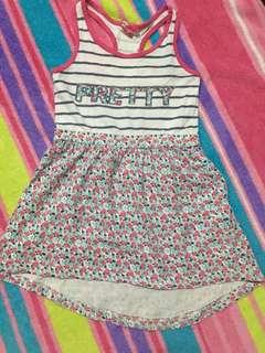 Girls Edition semi long back dress