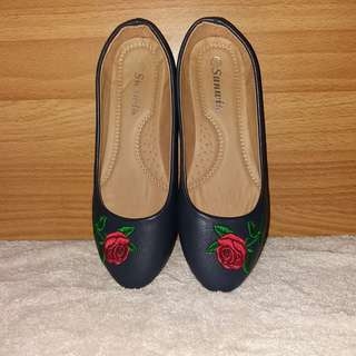 NAVY BLUE DOLL SHOES