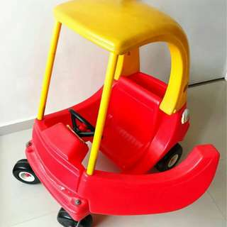 Little tikes Push Car + Pump