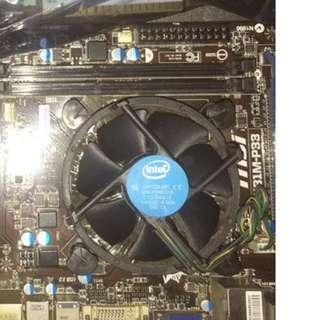 Processor, Motherboard, Keyboard