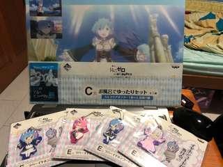 All for 20!! Ichiban kuji rezero nyanko mode