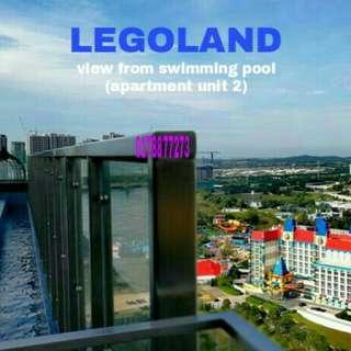 Legoland homestay max 8 orang