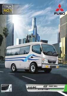 Mitsubishi Colt Diesel Mini Bus Travel