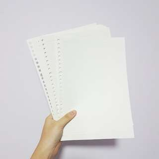 muji lined papers