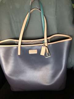 Authentic Coach tote (like neverfull)