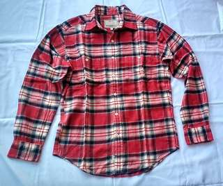 Kemeja flannel Authentic