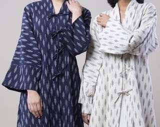 Cotton Ikat Kimono / Kebaya Outerwear