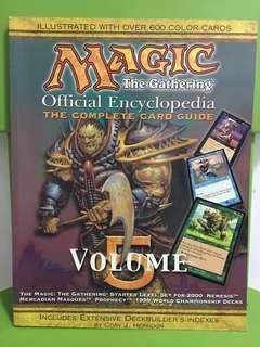 Magic The Gathering - Vol 5 Encyclopedia