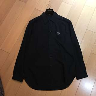 Louis Vuitton black long shirt with small LV logo.. brand new!!