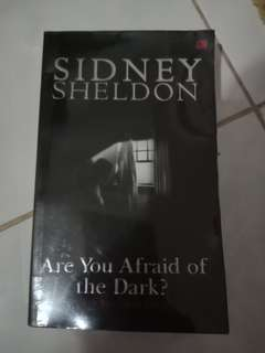 Novel are you affraid in the dark by sidney sheldon