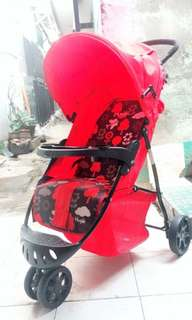 Stoler baby red