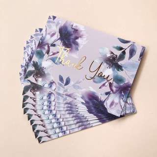 A7 Thank You Cards with Envelopes