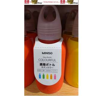 Japan Quality - Rainbow Indigo Water bottle Miniso Botol Minum