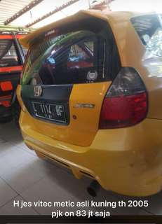 Honda jazz vi tec 2005 matic
