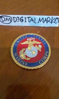 Gold Plated U.S Marine Corp #16