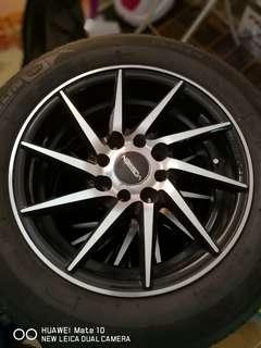 Sportrim 14 inch Vossen cvt serta tayar Michelin