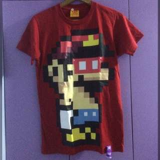 Super mario tshirt