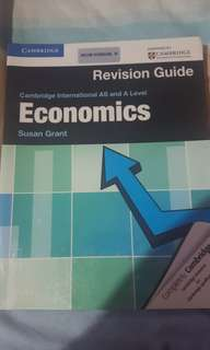Cambridge International As & a level Economics Revision Guide book