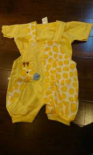 Two Piece Yellow Jumper with inner shirt 18 mth to 2 yo