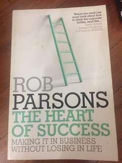 Rob parsons the heart of success