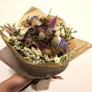 Z's Flora-文青風大花束,送乾燥花卡片一張!