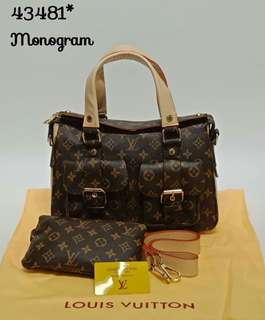 Louis Vuitton Manhattan 2 in 1 Monogram