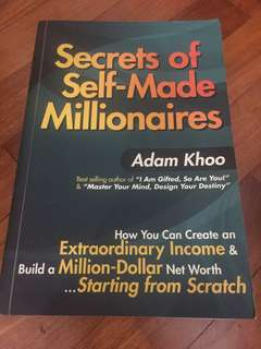 Adam Khoo secrets of self made millionaires