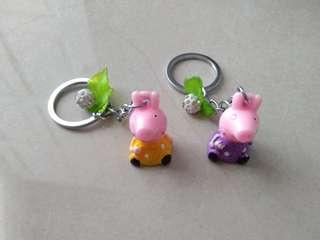 Peppa Pig Keychains
