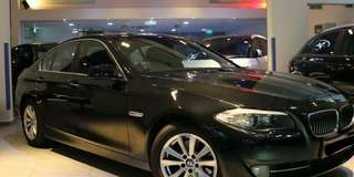 Bmw F10 520i Twin Turbo 2012/13 RM38,000 CASH