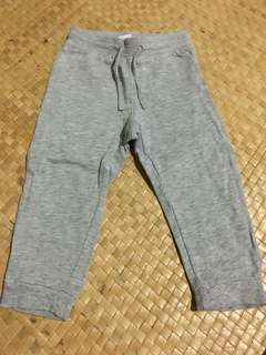 H&m jogging pants(18to24mos)