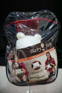 Gendongan depan baby joy