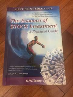 The essence of stock investment N W Teong