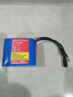 Rechargeable Battery 12V 11000Mah