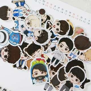 GOT7 cartoon cute stickers