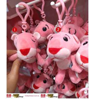 Japan Quality - Gantungan Boneka Mini Pink Panther Miniso