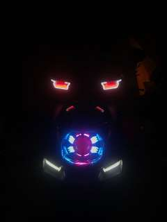 Xman方向燈 紅色