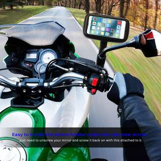 Universal Waterproof Phone Holder For MotorBikes,Bicycles,E-Scooters
