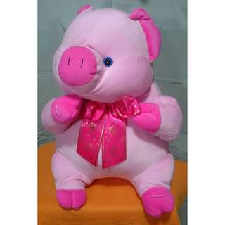 STUFFED TOY (Pink Pig)