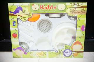 Kiddy feeding set