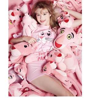 Japan Quality - Boneka Pink Panther Big Miniso