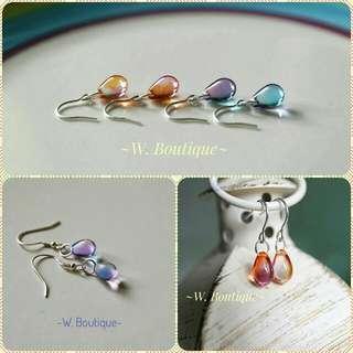 🌈琉璃珠飾品大合集 耳環/手鏈/頸鏈 包郵 現貨 店主實拍 (每種價錢不同) #2bdayship