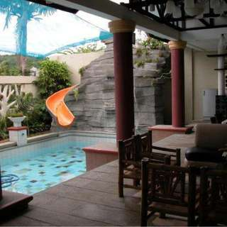 Villa Melissa Hotspring Private Pool Resort for rent in pansol calamba laguna