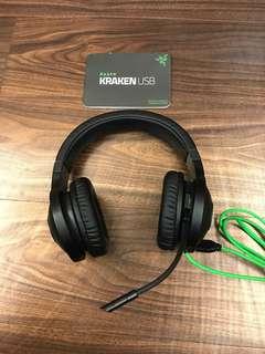 KRAKEN USB耳罩式耳機.麥克風
