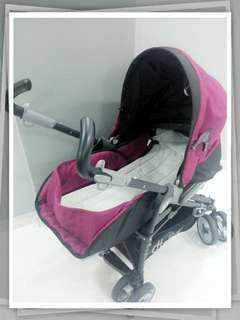 Halfords stroller and car seat