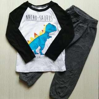 5T Pull Over & Keds Jogger pants