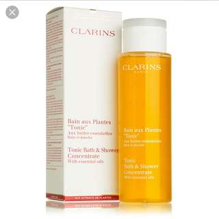 Clarins Bath and Shower Concentrate