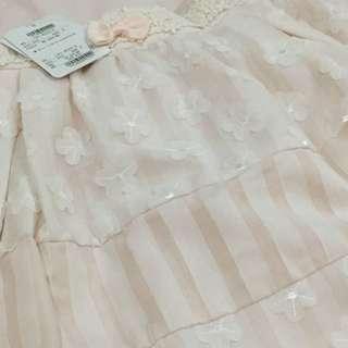 Liz Lisa 100% authentic baby petal pink textured skirt